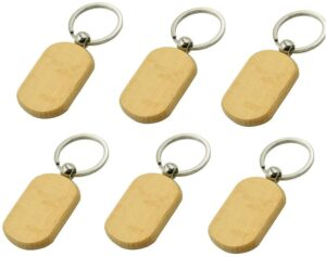 ConStore wooden keychains