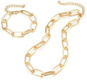 LANE WOODS Gold Chain Necklace