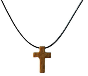 Tiny Natural wood necklace